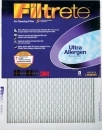 20x20x1 (19.6 x 19.6) Filtrete 1250/1500 Ultra/Advanced Allergen Filter by 3M