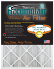 FAPF00 3M Filtrete Aftermarket Replacement Filter (4 1/2 x 13 x 1)