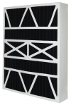 24X25X5 (23.75x24.75x4.38) Carbon Odor Block Day and Night Replacement Filter