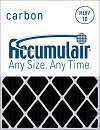 08x14x0.5 (Actual Size) Accumulair Carbon Odor Block 1/2-Inch Filter