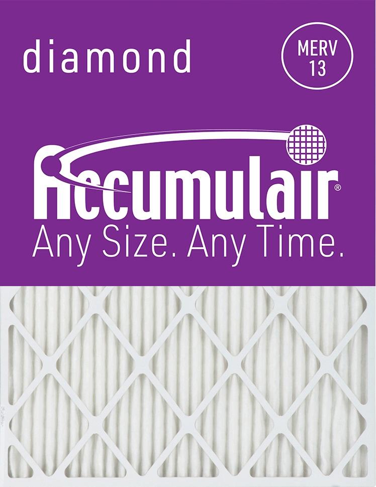 Accumulair Diamond 4-Inch MERV 13 Air Filter/Furnace Filters