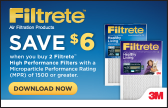 Filtrete High Performance Promo