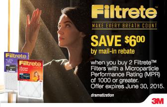 Filtrete Save $6 Promo