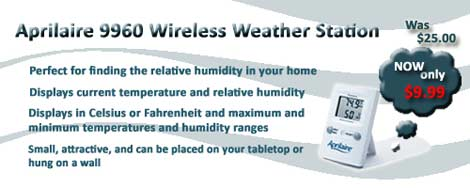 Aprilaire 9960 Wireless Weather Station