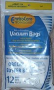 Buster B Oreck Vacuum Cleaner Replacement Bag (12 Pack)