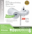 FM350XW DUPONT Deluxe Faucet Mount Filtration System (White)