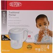PT100XW DUPONT™ Traditional Filtered Water Pitcher