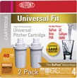 PTC102X DUPONT™ High Protection Universal Water Pitcher Cartridge (2 Pack)
