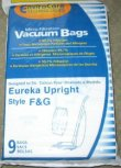 Type F and G Eureka Vacuum Cleaner Replacement Bag (9 Pack)