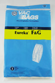 Type F and G Eureka® Vacuum Cleaner Replacement Bag (3 Pack) by DVC®