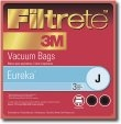 Type J Eureka Vacuum Cleaner Replacement Bag (3 Pack)