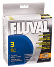 Fluval Fine Filter Pads for Fluval FX5 Filter (3 Pack)