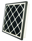 14x24x4 (13.75x23.75x3.75) Carbon Odor Ban Grille Filter