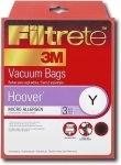 Type Y Hoover Vacuum Cleaner Replacement Bag (3 Pack)