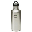 Klean Kanteen 40 oz Classic with Loop Cap - Brushed Stainless