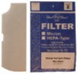 MU3 Sharp Vacuum Replacement Filter (2 Pack)
