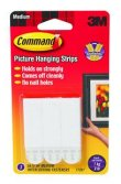 Command Medium Picture Hanging Strips By 3M