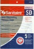 Type SD Sanitaire Vacuum Cleaner Replacement Bag (5 Pack)