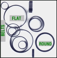 Vacuum Cleaner belts