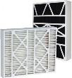 20X25X5 (19.88x24.75x4.38) MERV 8 Bryant Replacement Filter w/One .625x1x24.75 Inch Foam Strip Per Filter